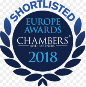 Chambers Europe Shortlisted 2018